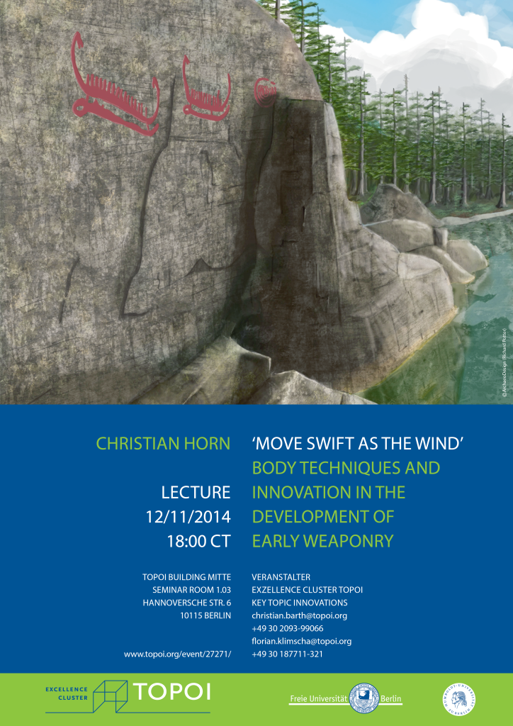 Lecture: Move Swift as the wind | Poster | Image: ©ArchaeoDesign (Richard Potter)