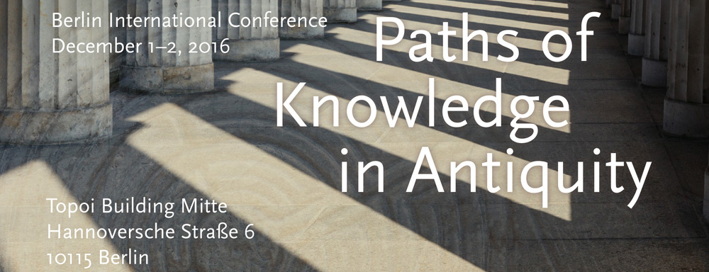 "Conference poster ""Path of Knowledge"""