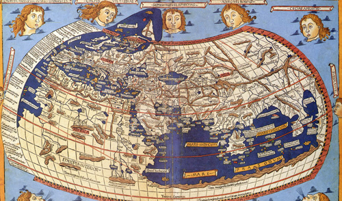 Claudius Ptolemy, The World smal, public domain